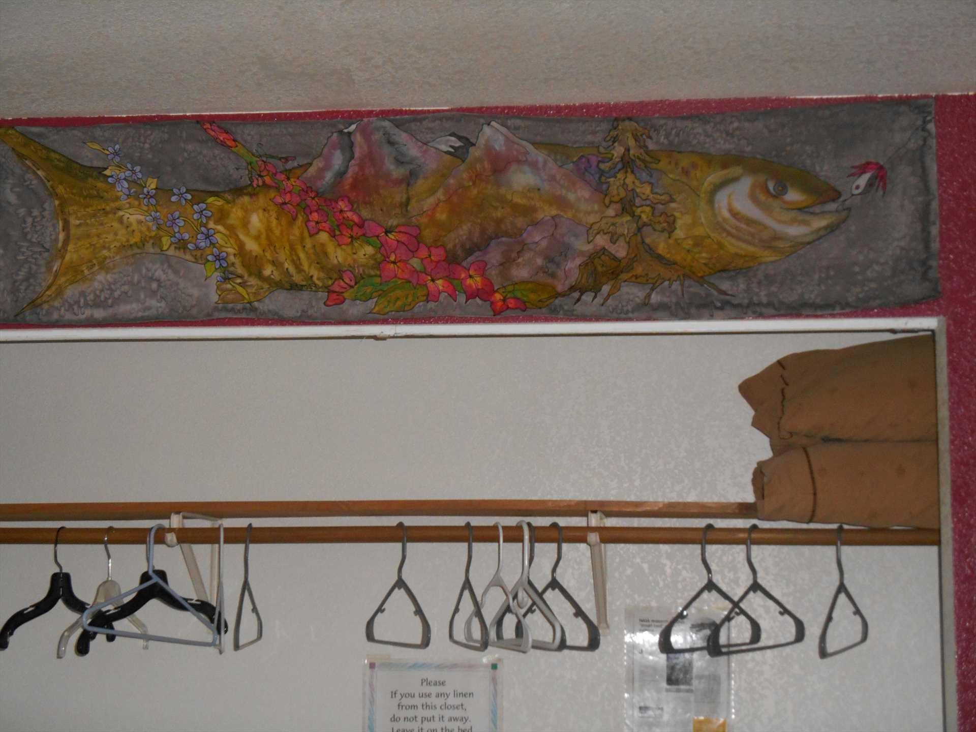 Silk Fish Print