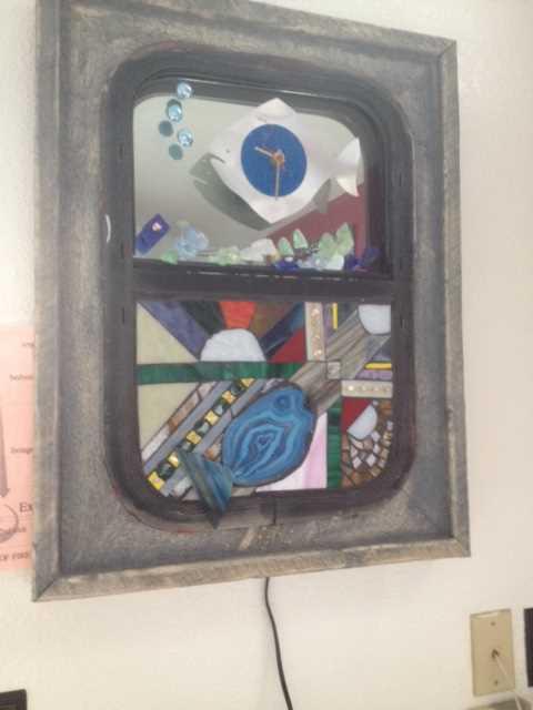 Boat Window Clock