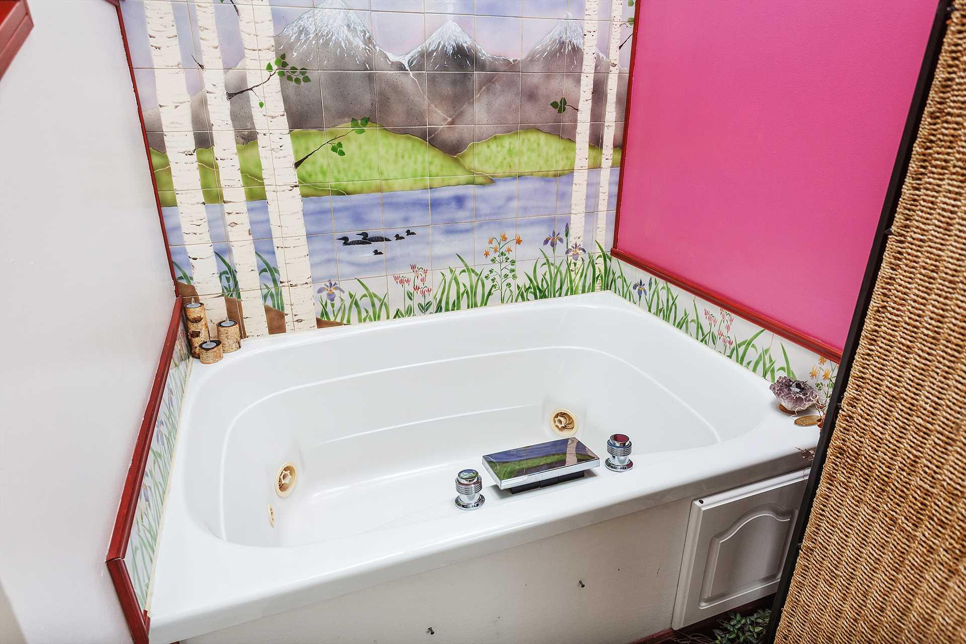 Jaccuzi Bath for Two
